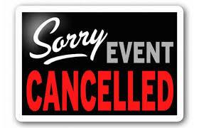 PANCAKE BREAKFAST IS CANCELLED!