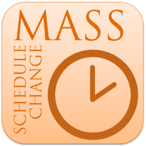 Some Changes in our Weekend Mass Schedule and Experience