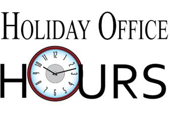 Parish Office Holiday Hours