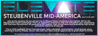 Steubenville Mid America - Invite for teens