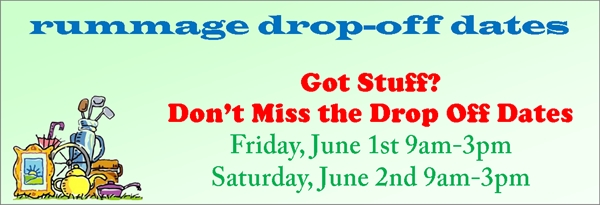 Drop Off Dates