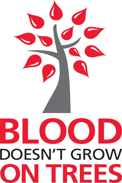 Blood doesnt' grow on trees
