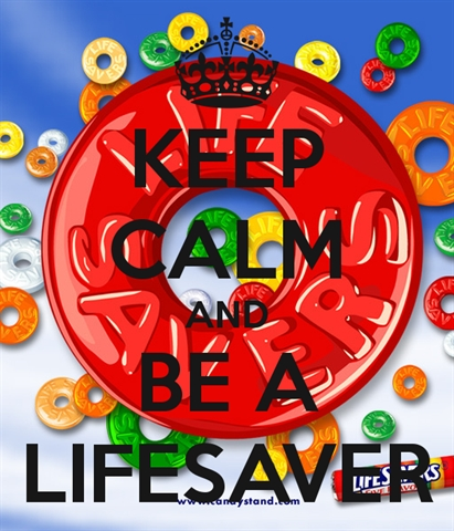 keep-calm-and-be-a-lifesaver
