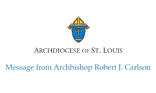 Invitation from Archbishop Robert Carlson
