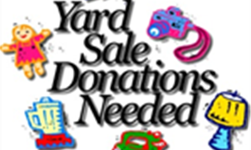 ULTIMATE RUMMAGE SALE DONATION DROP OFF 5/31 & 6/1 ONLY