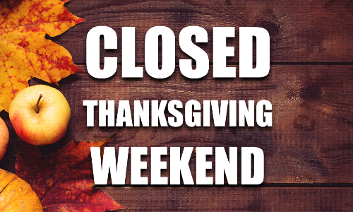 Parish Office closed Thanksgiving weekend