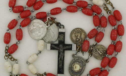 Old Rosaries, religious Jewelry, Missals & other Items Collection